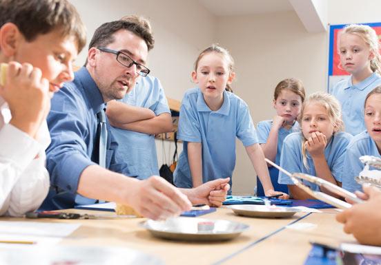 Lärare använder FlashBack med nya och innovativa undervisningsmetoder